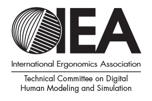 International Ergonomics Association Technical Committee on Digital Human Modeling and Simulation